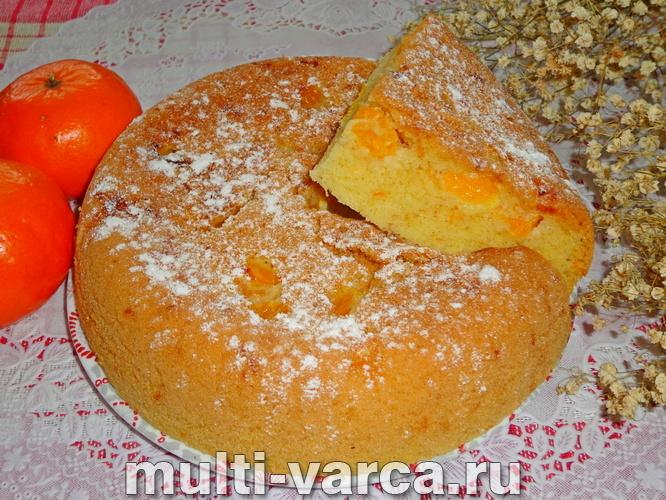 Как в домашних условиях приготовить вкусную пышную шарлотку с мандаринами в мультиварке, пошаговый рецепт с фото