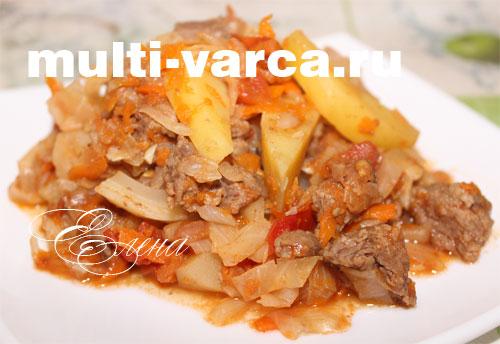 рецепт солянки с капустой и мясом и картошкой