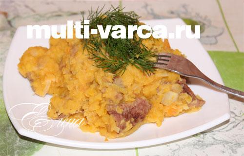 красная фасоль с мясом в мультиварке рецепты