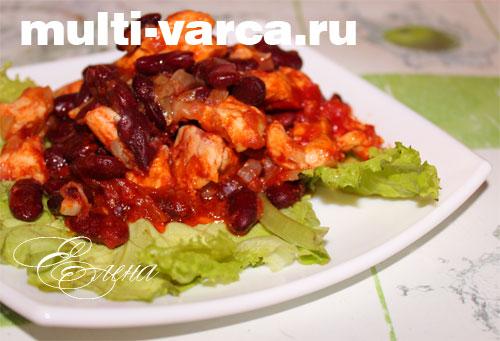 рецепты для мультиварки баклажаны с курицей