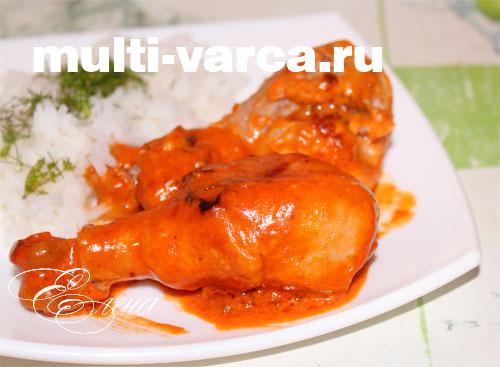рецепт куриной голени на мультиварке