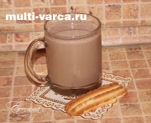 какао в мультиварке рецепт с фото