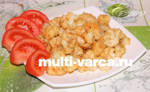 Диетические блюда из замороженной цветной капусты
