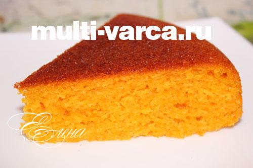 морковный пирог на кефире рецепт с фото