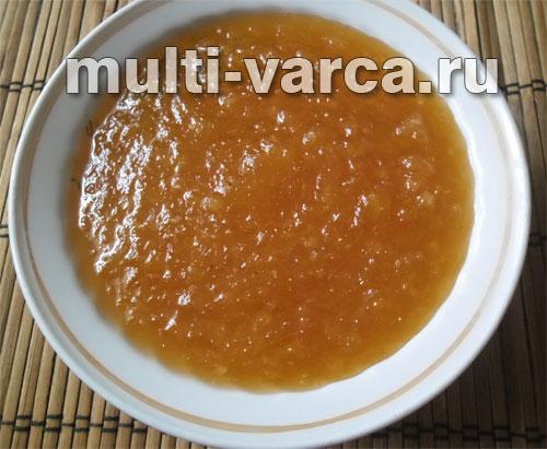 Конфитюр из мандаринов в мультиварке
