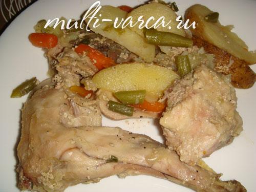 голень куриная рецепты в скороварке мультиварке