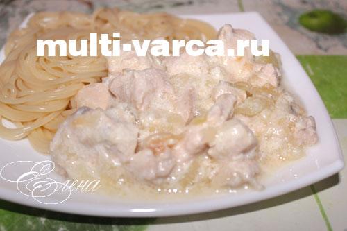 Куриное филе со сливками в мультиварке рецепты с фото