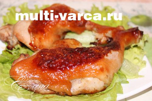 рецепты куриных ножек в медовом соусе