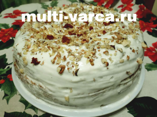как испечь торт в мультиварке рецепты