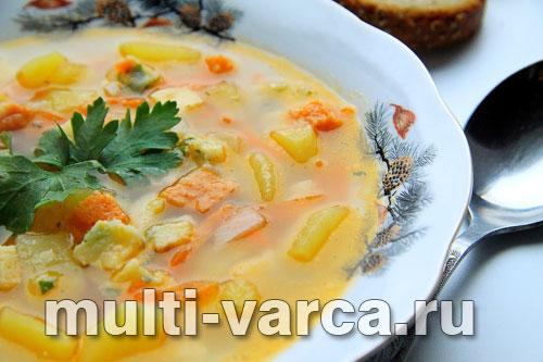 Овощной суп в мультиварке Поларис