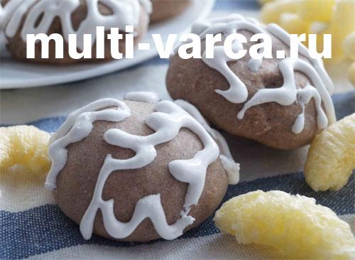 Печенье в мультиварке с кукурузной начинкой