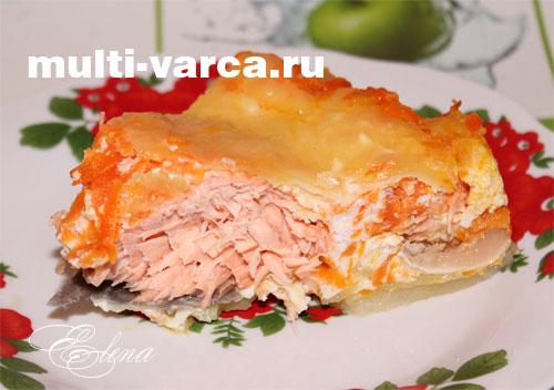 Диетические блюда из красной рыбы рецепты