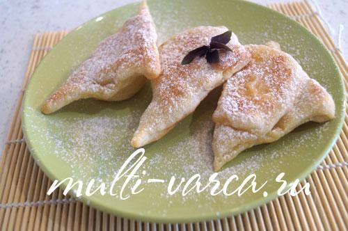 Пирожки с персиками в мультиварке