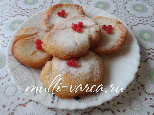 Творожные пончики в мультиварке
