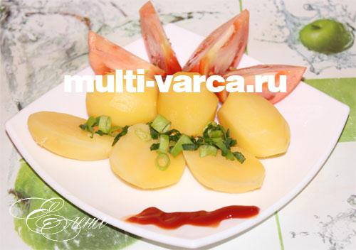 Картофель на пару в мультиварке