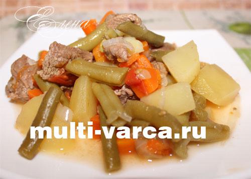стручковая фасоль с картошкой рецепты приготовления