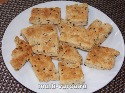 Простое домашнее соленое печенье