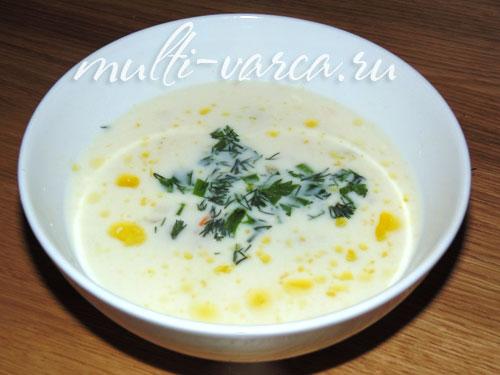 сырный суп пюре рецепт в мультиварке редмонд