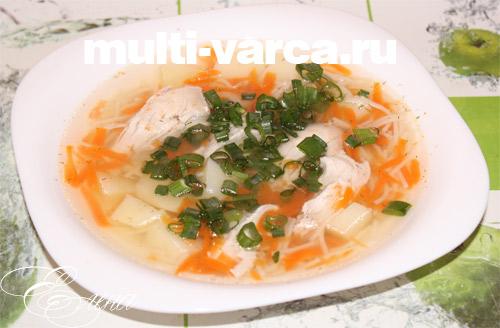 рецепт куриного супа с грибами в мультиварке