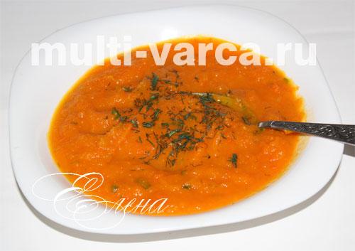 рецепты для мультиварки суп пюре с грибами