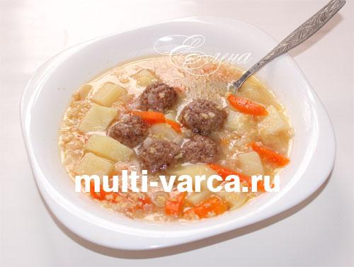 рецепт супа с гречкой и свининой рецепт