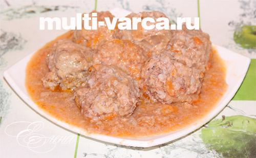 Тефтели Любимые  кулинарный рецепт