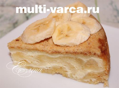 ватрушки с бананом рецепт