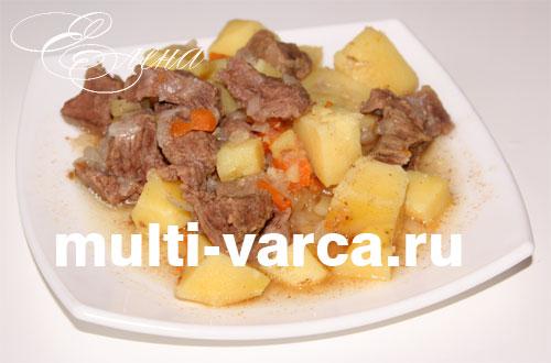 рецепт жаркого с картошкой в мультиварке