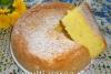 Рисовый бисквит в мультиварке