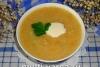 Суп-пюре из цветной капусты в мультиварке