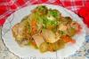 Курица с брюссельской капустой в мультиварке