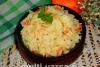 Цветная капуста с рисом в мультиварке