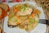 Горбуша с рисом в мультиварке