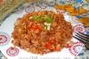 Гречка с помидорами и луком в мультиварке