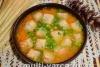 Постный гороховый суп в мультиварке