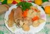 Курица с цветной капустой в мультиварке