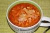 Суп с фаршем в мультиварке