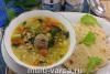 Суп с булгуром в мультиварке