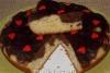 Пирог с творогом и бананами в мультиварке