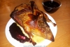 Мягкая сочная утка, запеченная в рукаве в духовке целиком