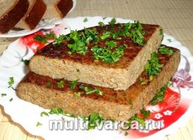 Суфле из говяжьей печени в мультиварке