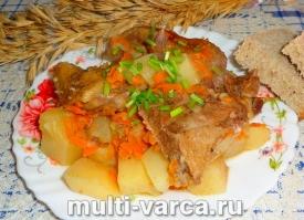 Утка с картошкой в мультиварке