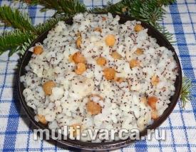 Сварить кутью из риса с изюмом в мультиварке