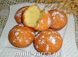 Кексы на сметане с кокосовой стружкой в духовке в силиконовых формочках