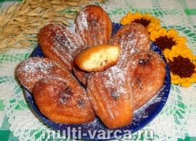 Печенье Мадлен - классический рецепт