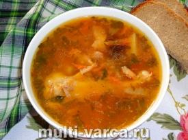 Суп харчо из курицы в мультиварке