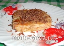 Яблочное суфле в мультиварке
