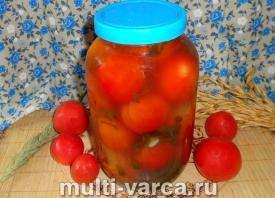 рецепт квашеных помидоров на зиму в банках