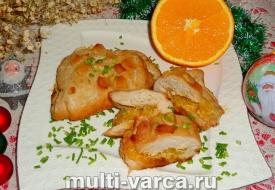 Филе индейки запеченное в фольге в духовке