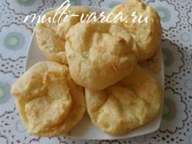Заварные сырные булочки